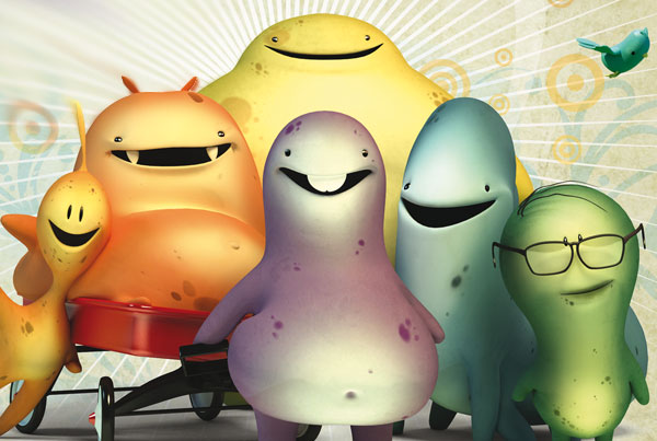Glumpers, dibujos divertidos chistoso comicos, animated funny cartoon tv show, lol